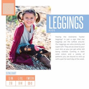 LuLaRoe Bottoms - Spiders! S/M LuLaRoe Kids Leggings